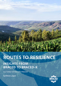 Routes to resilience insights