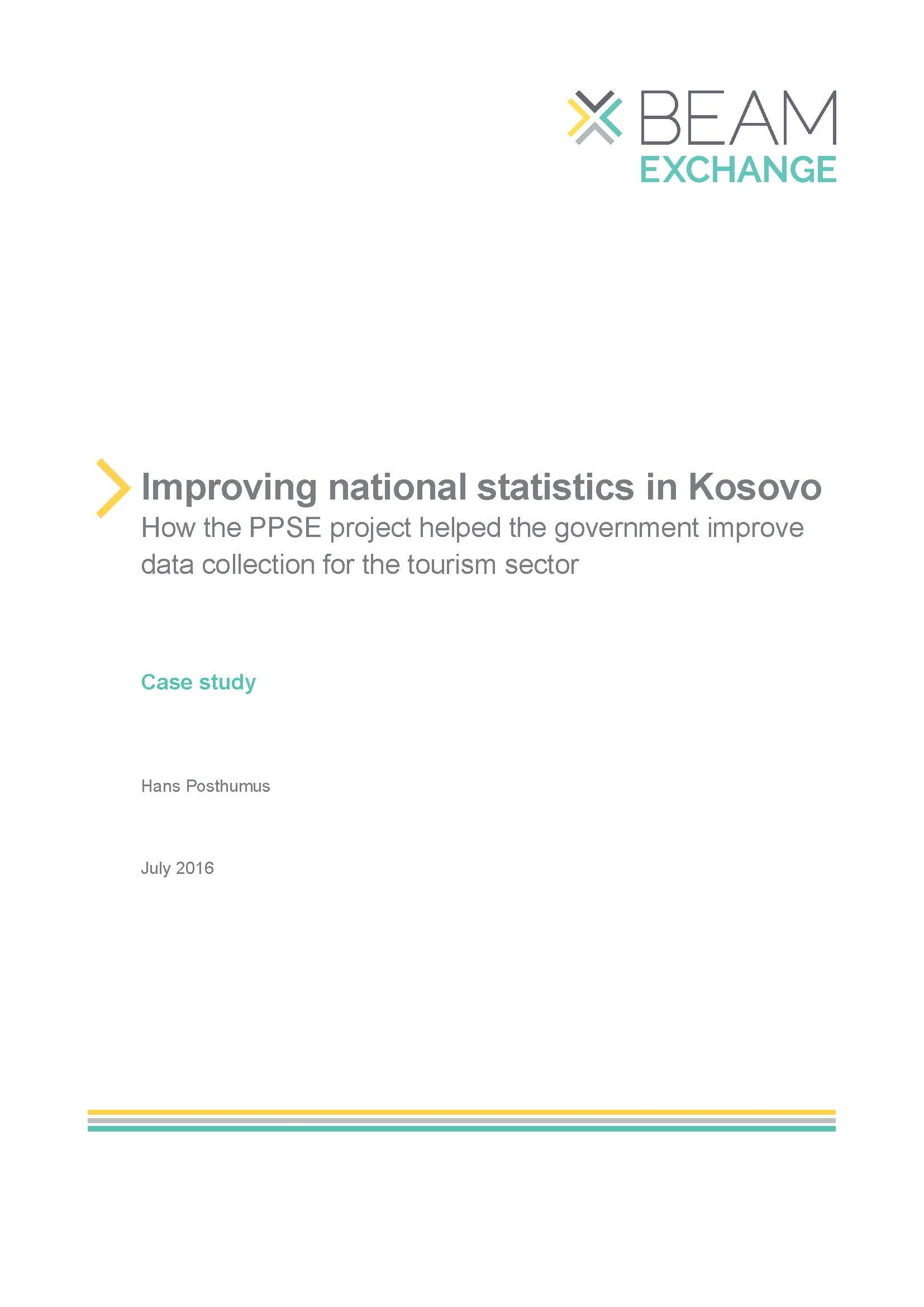 Improving national statistics in Kosovo - Itad