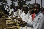 Rwanda drummer